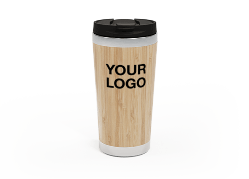 EcoSip - Promotional Bamboo Travel Cups