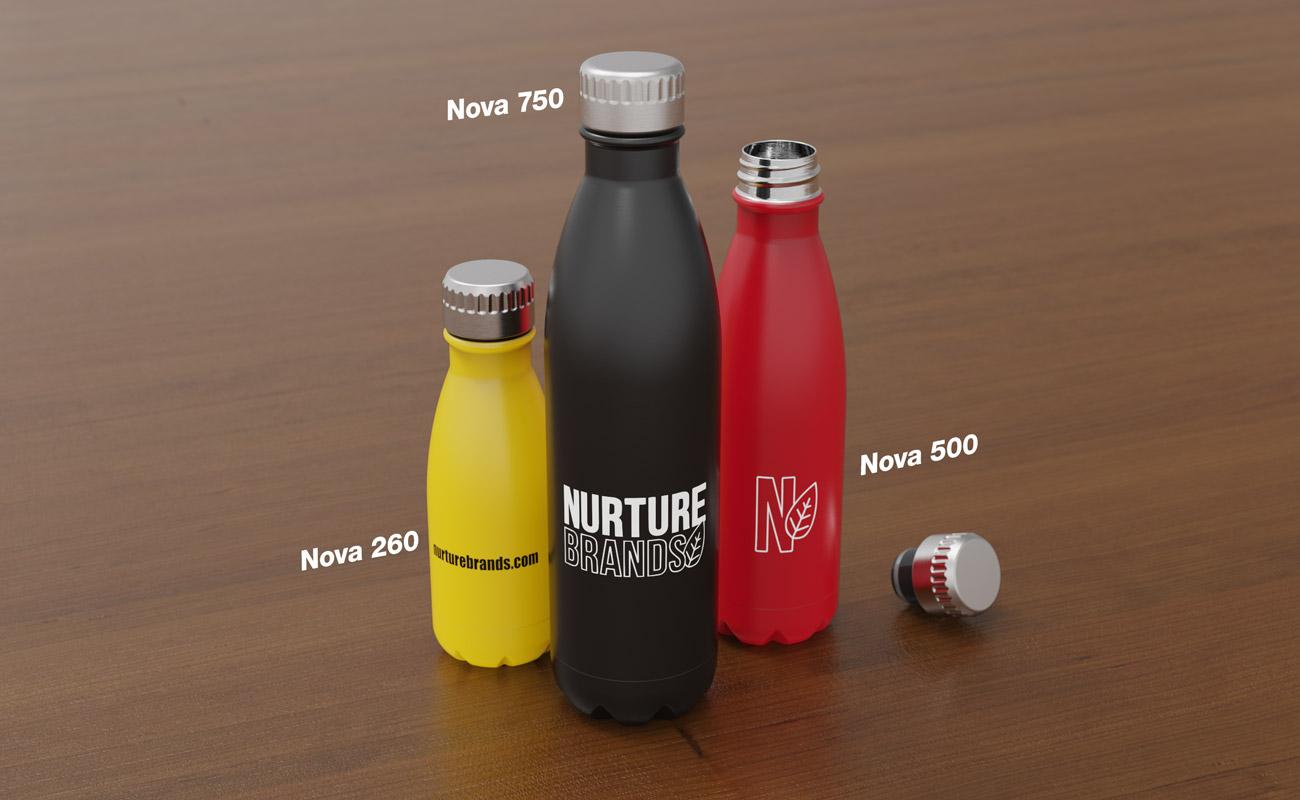 Nova - Personalised Water Bottles