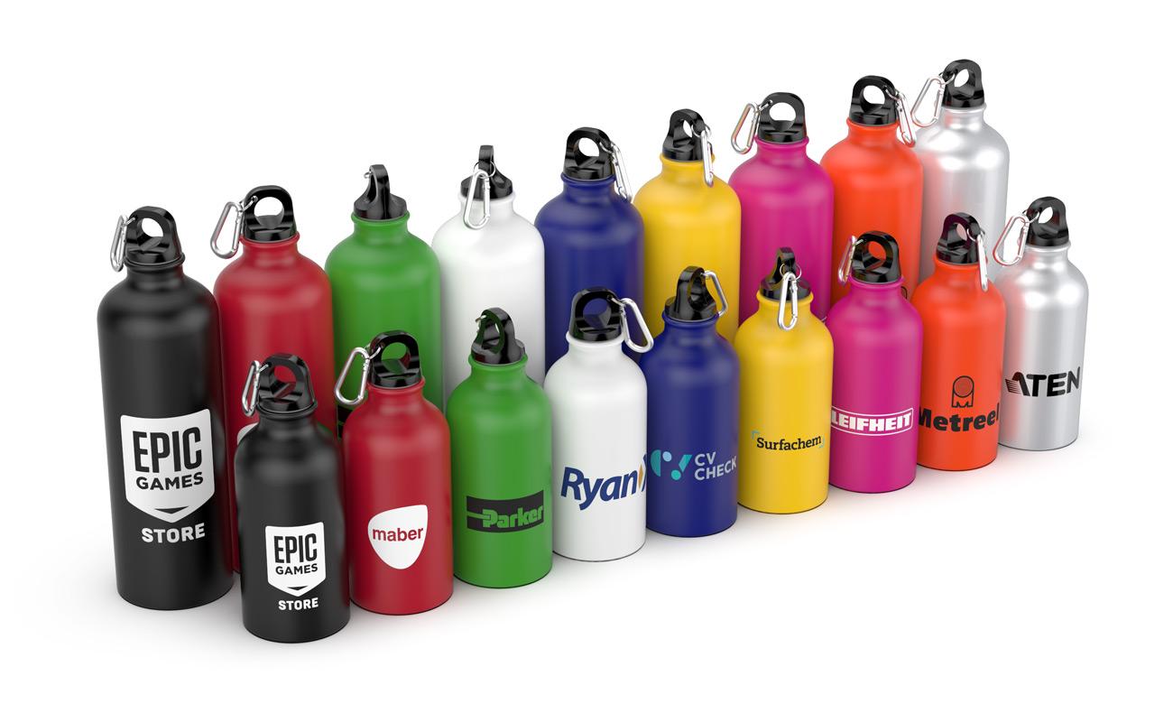 Vita - Branded Water Bottles Logo